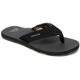 Quiksilver Island Oasis Men Sandals black/green/green